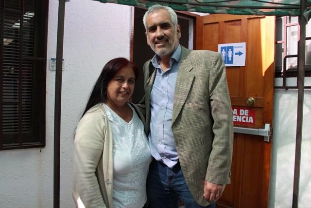 Clara Morales Manzano y Carlo Crino Aráguiz de Escuela Jorge Barros de Panquehue.