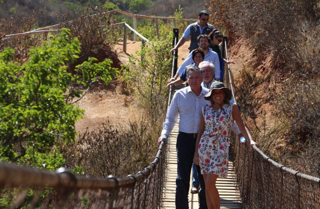 Parque Urbano de La Ligua cuenta con diversos senderos