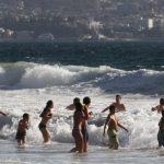 muertos y ahogados en playas region valparaiso