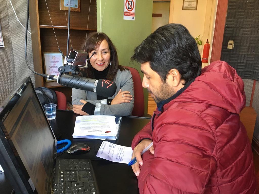 Difusión Fondo Concursable Sopraval en Radio La Calera (105.5 FM)