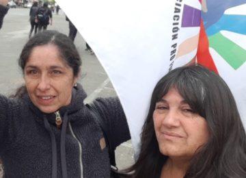 A la izquierda, Marissa Segura, Presidenta de AproJunji.