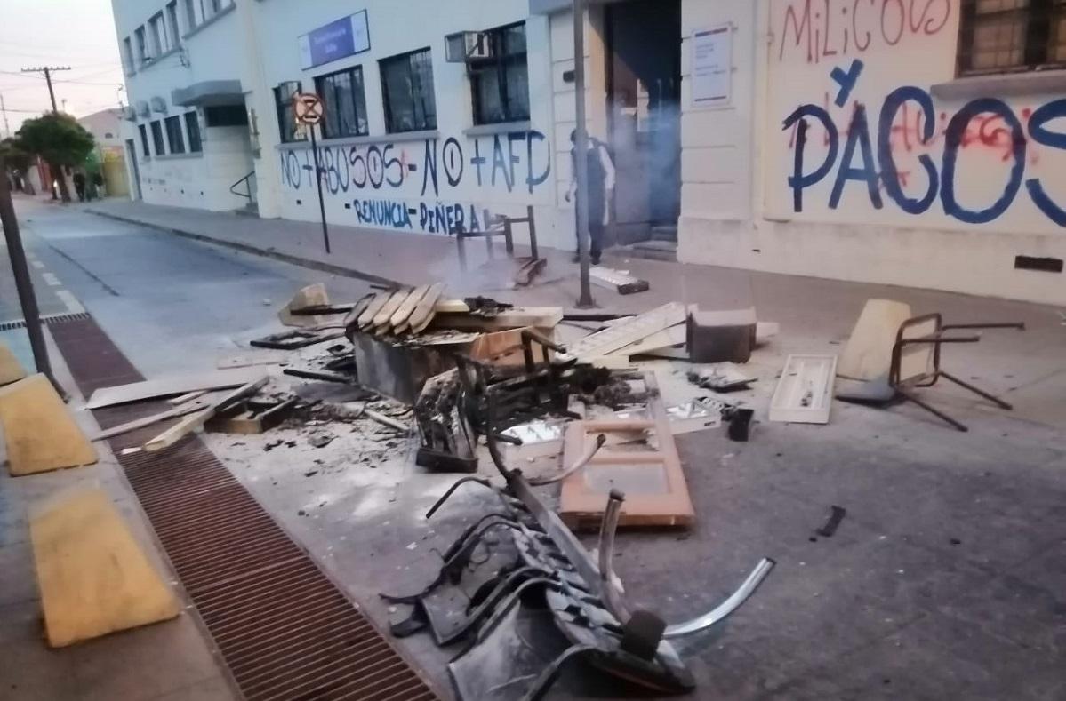 """Gobernador por desmanes en Quillota: """"vamos a seguir persiguiendo a quienes generan temor"""" - El Observador"""